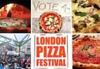 مهرجان للبيتزا في لندن