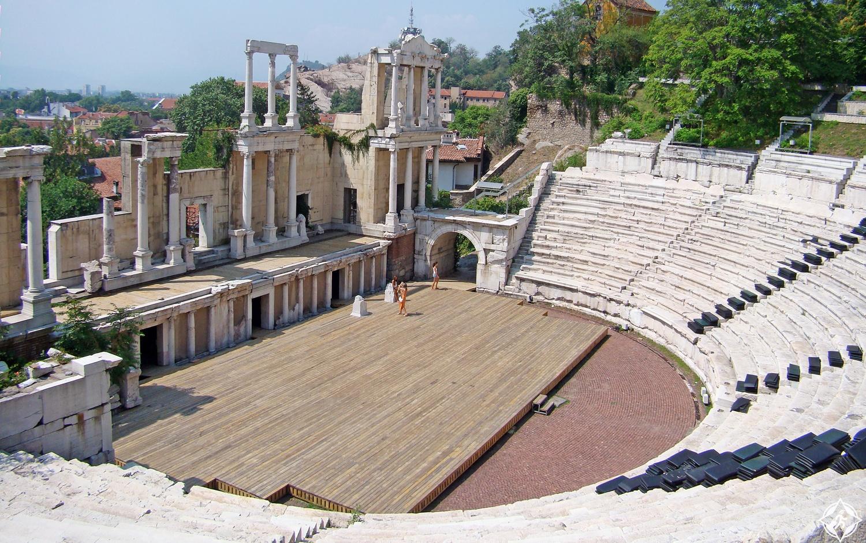 أثار رومان في بلغاريا