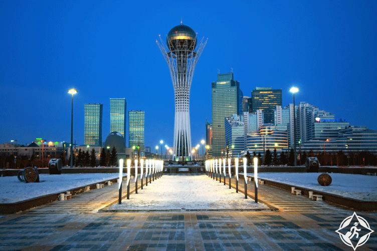 أستانا عاصمة كازخستان
