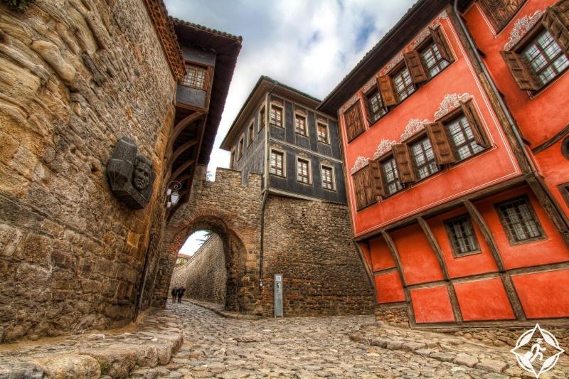 البلدة القديمة في مدينة بلوفديف