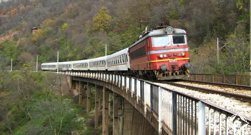 السكك الحديدية في بلغاريا