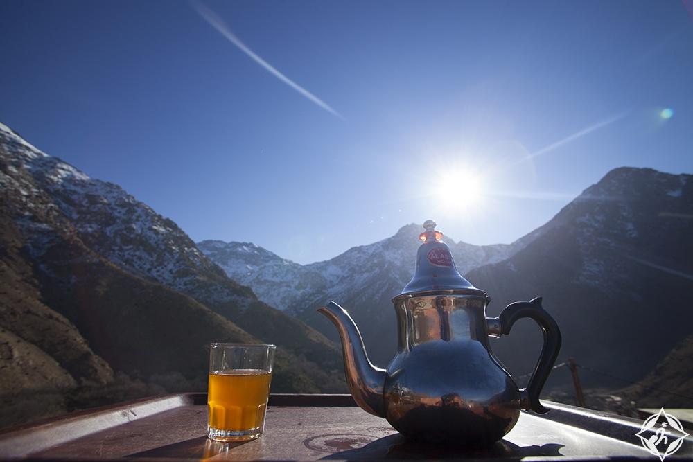الشاي بالنعناع .. المغرب وجهة سياحية