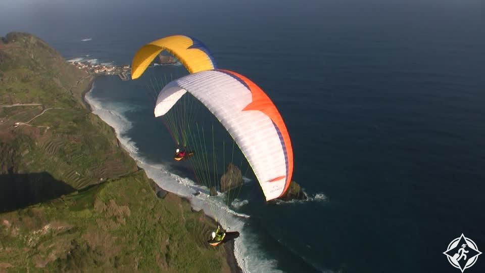 القفز بالمظلات في ماديرا