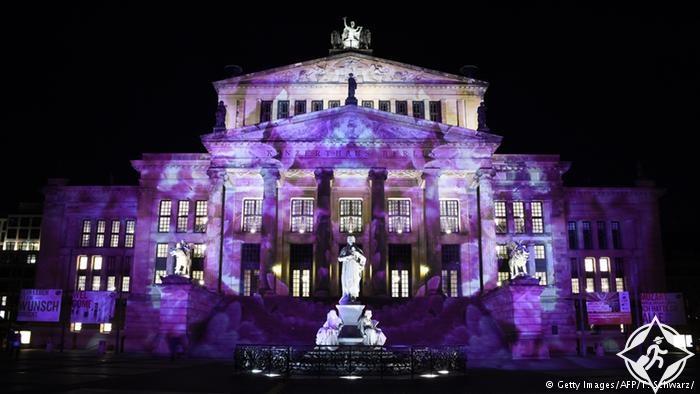 مهرجان الاضواء في برلين