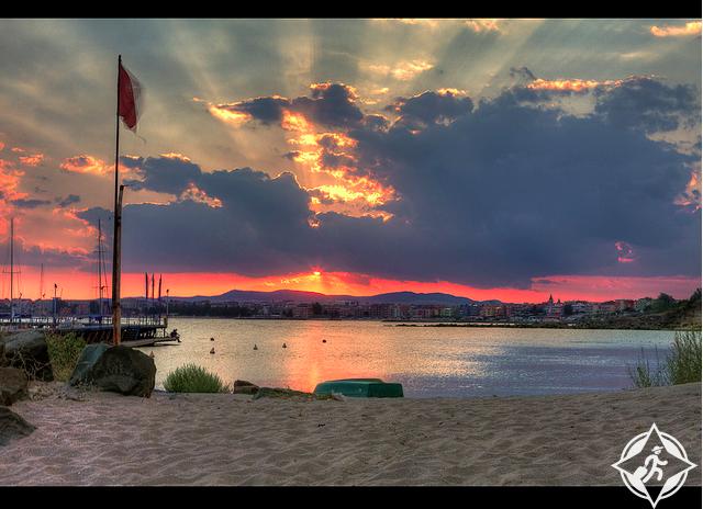 شواطئ البحر الأسود
