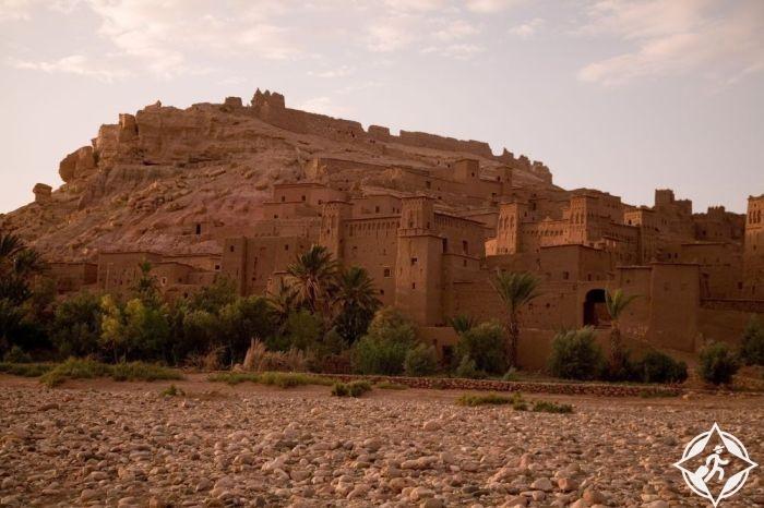 قصر ايت بن حدو بالمغرب