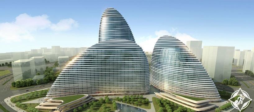 مبنى وانغجينغ في بكين