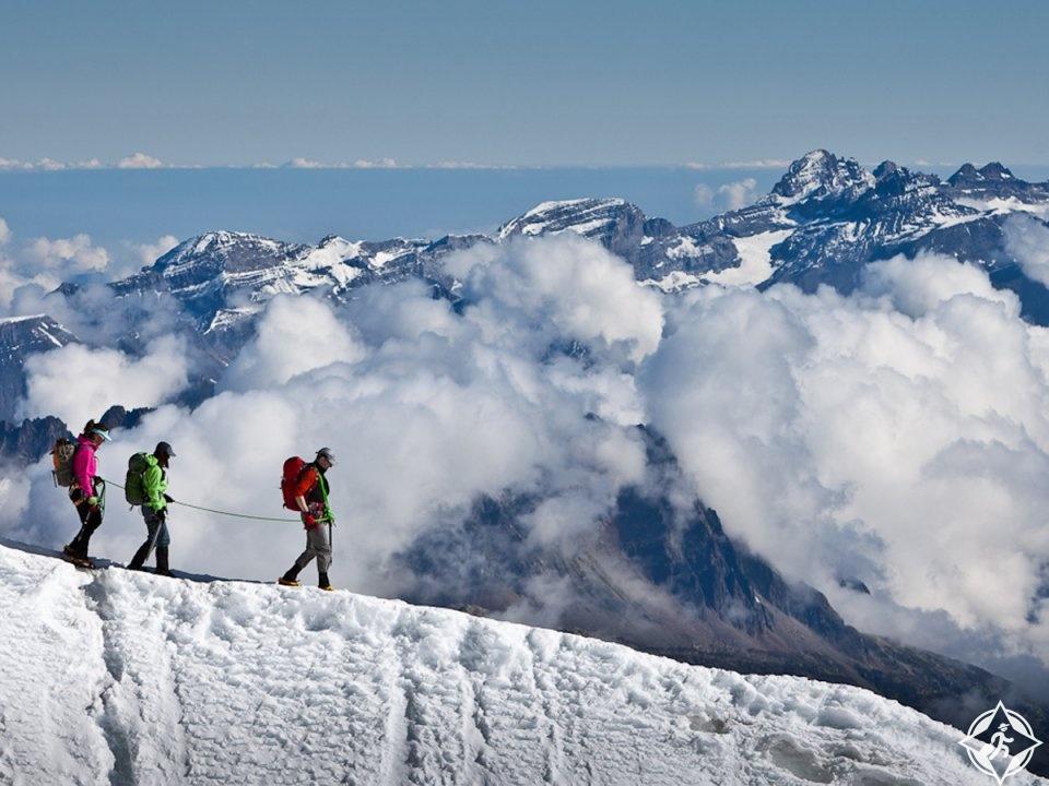 الجبل الأبيض شاموني مونت بلان