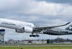 الخطوط السعودية تطلق طائرتها الجديدة ايرباص A350 XWB