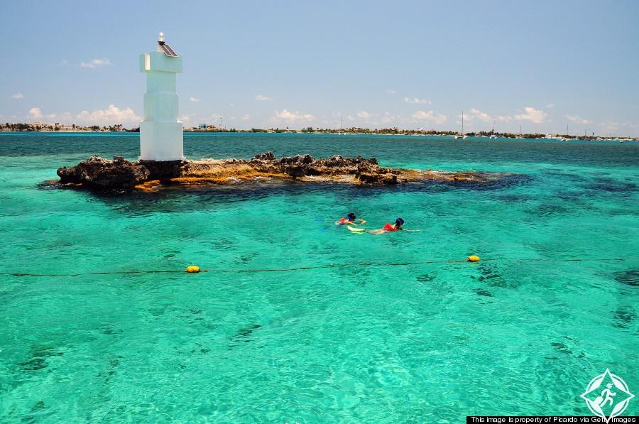 جزيرة موخيريس أجمل الأماكن في المكسيك