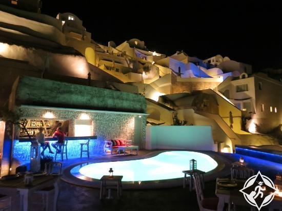 فندق غريز في سانتوريني