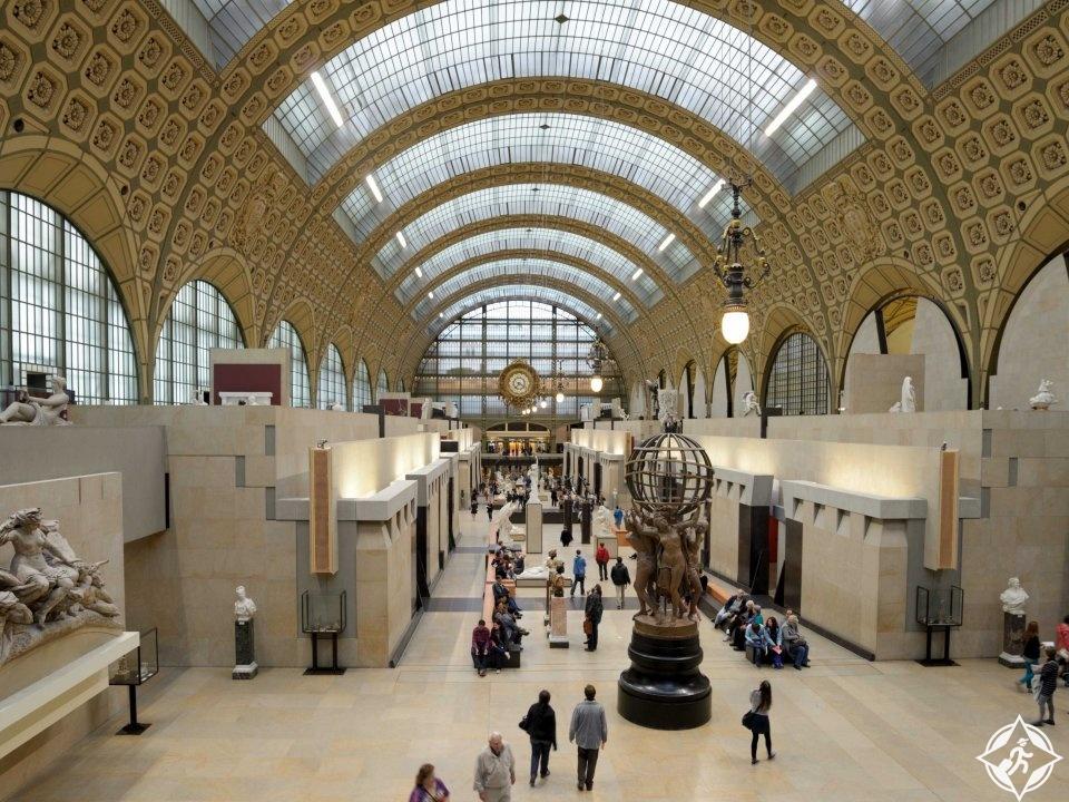 متحف أورساي في فرنسا بلد الجمال