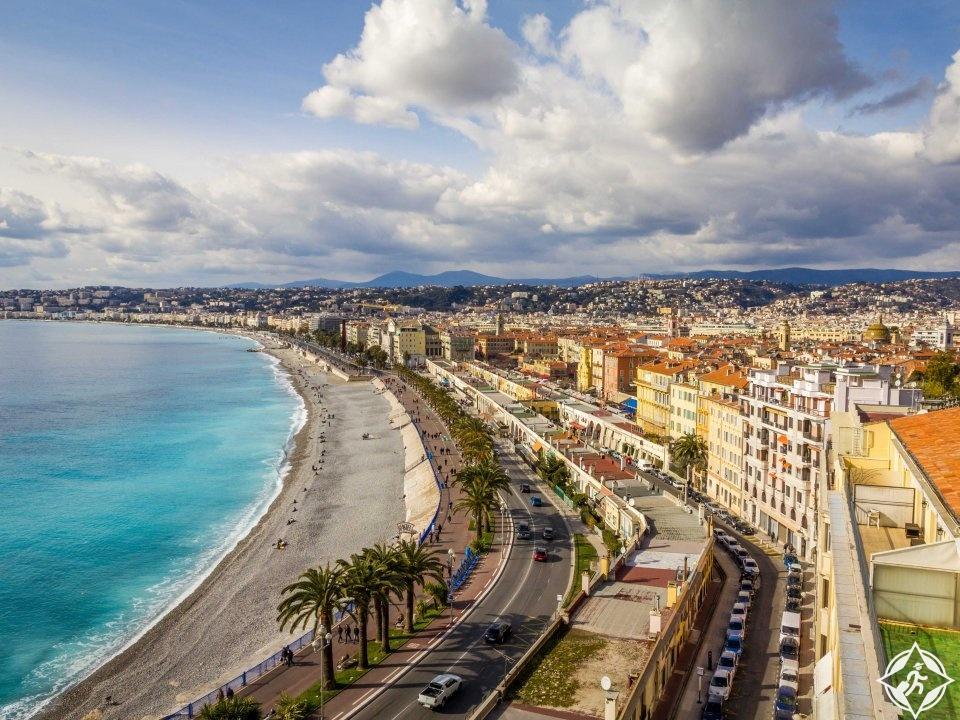 مدينة نيس فرنسا بلد الجمال