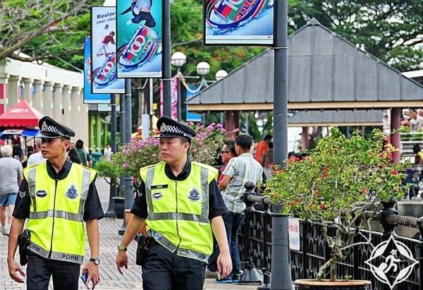 الشرطة السياحية في ماليزيا