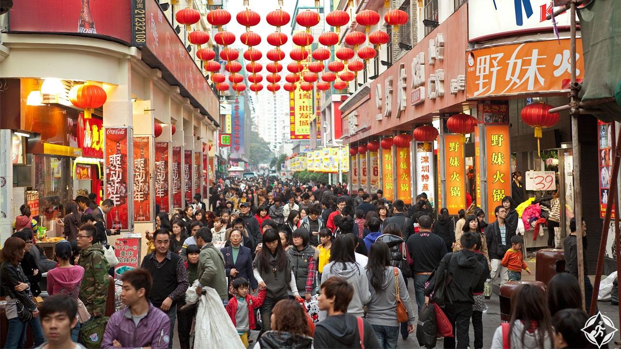 التسوق في الصين