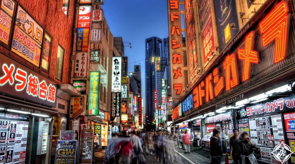 التسوق في اليابان