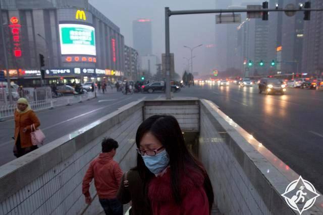 تلوث الصين
