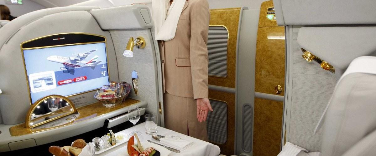 الدرجة الأولى لطيران الإمارات