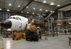 أكبر مركز صيانة طائرات