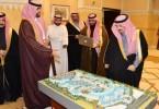 مجسم مشروع تجاري في الرياض