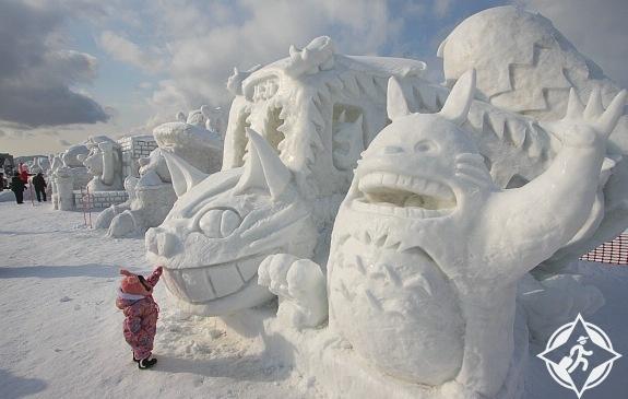 مهرجان الثلج اليابان