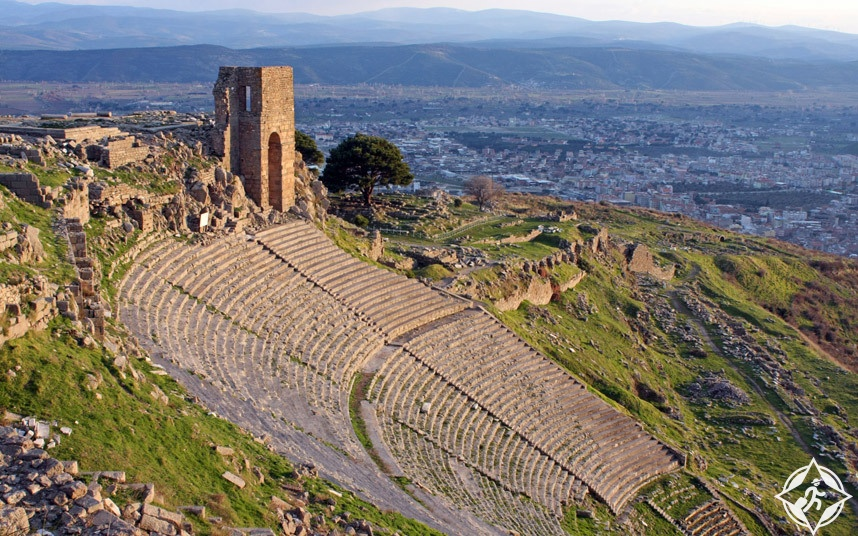 مسرح بيرغامون - مسارح أثرية