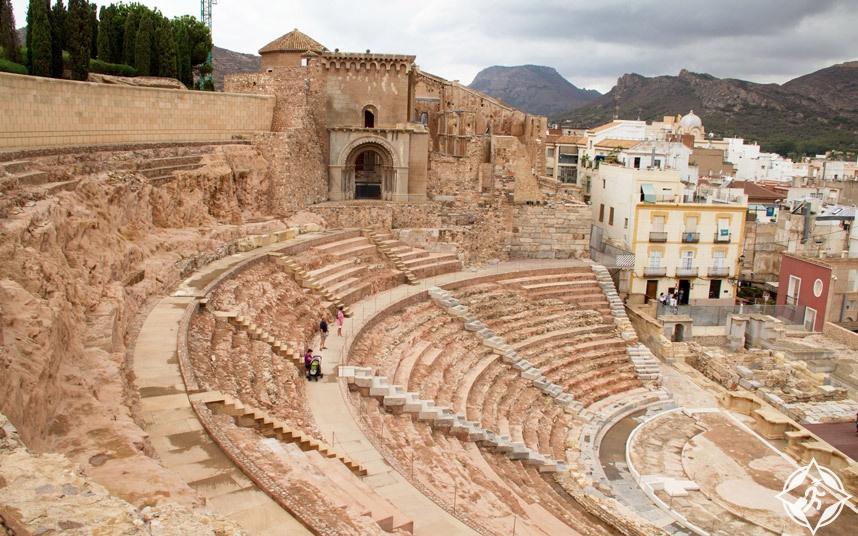 مسرح قرطاجنة - مسارح أثرية
