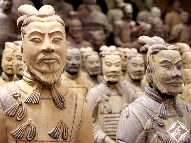جنود تيراكوتا في الصين