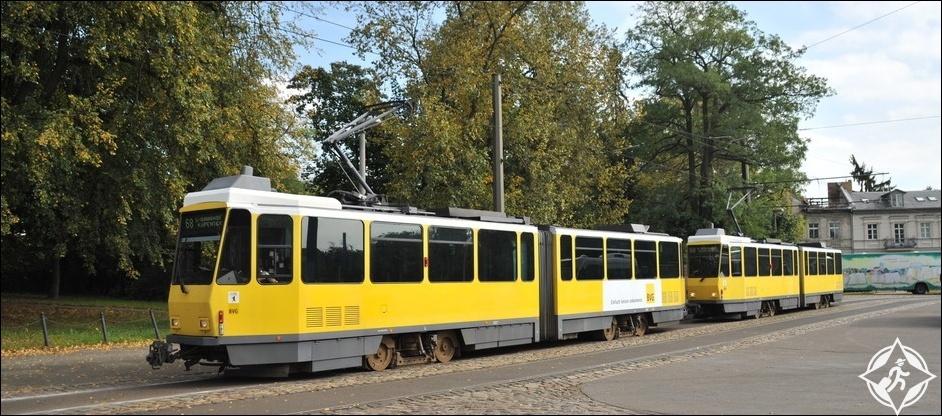 الترام في برلين