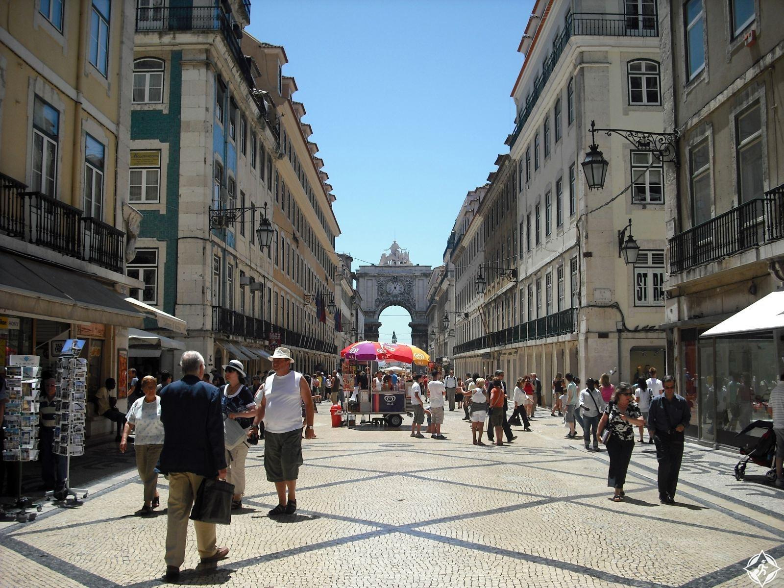 التسوق في لشبونة
