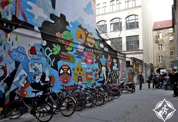 الدراجات في برلين