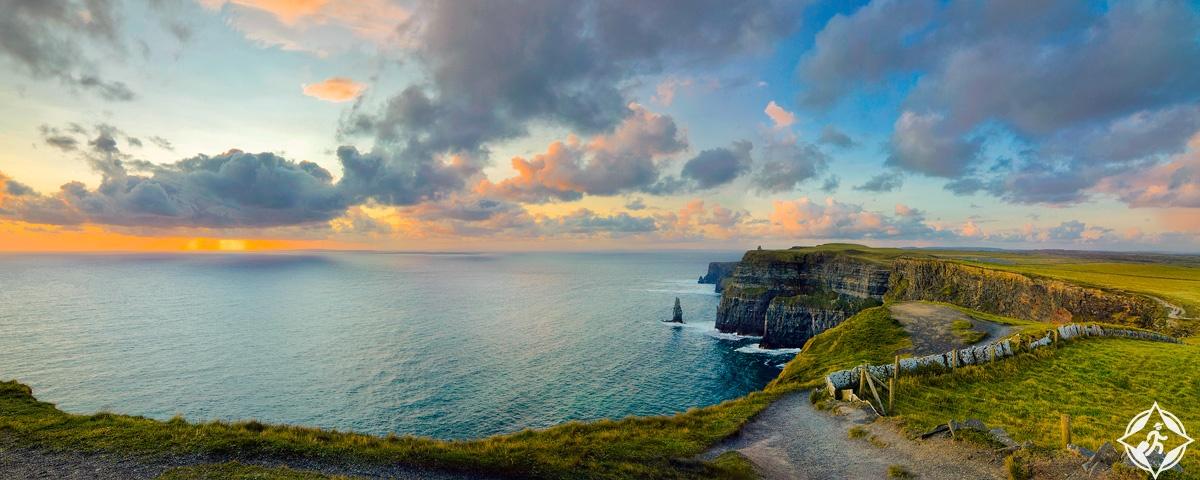 المنحدرات الايرلندية موهر