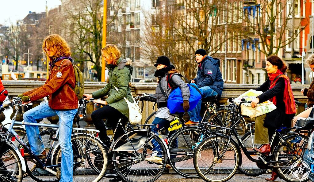 ركوب الدراجات في هولندا