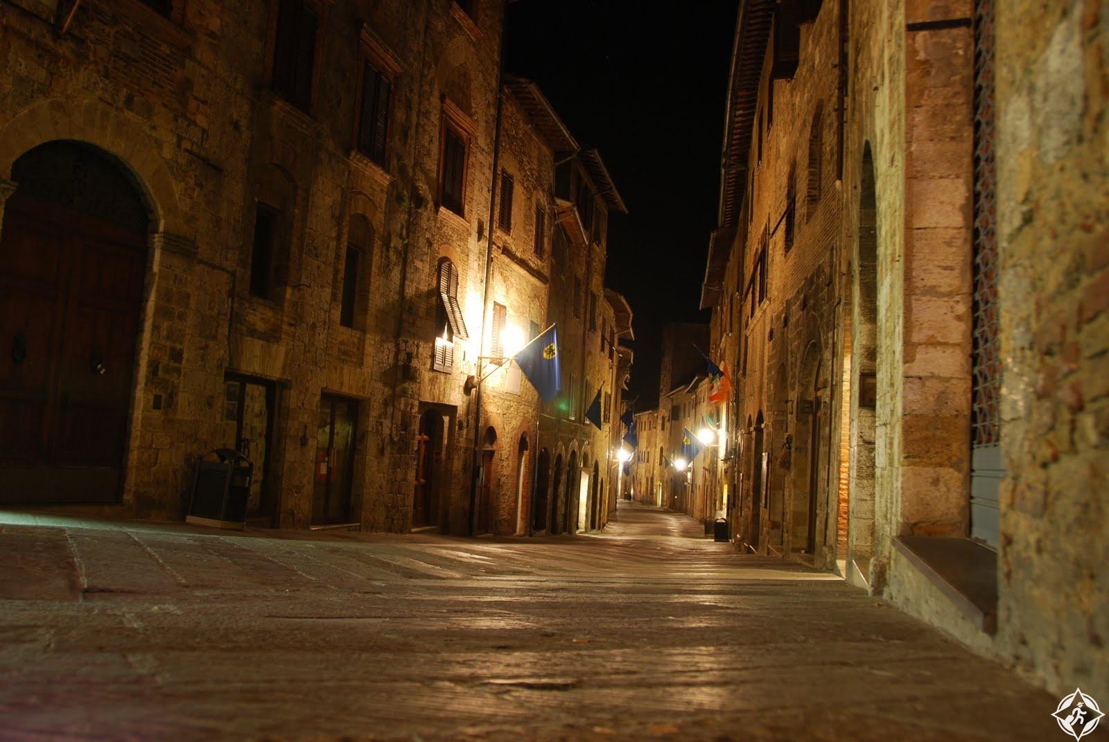شوارع سان جيميجنانو