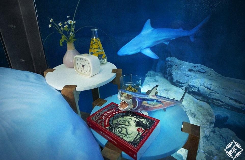 غرفة نوم تحت الماء4