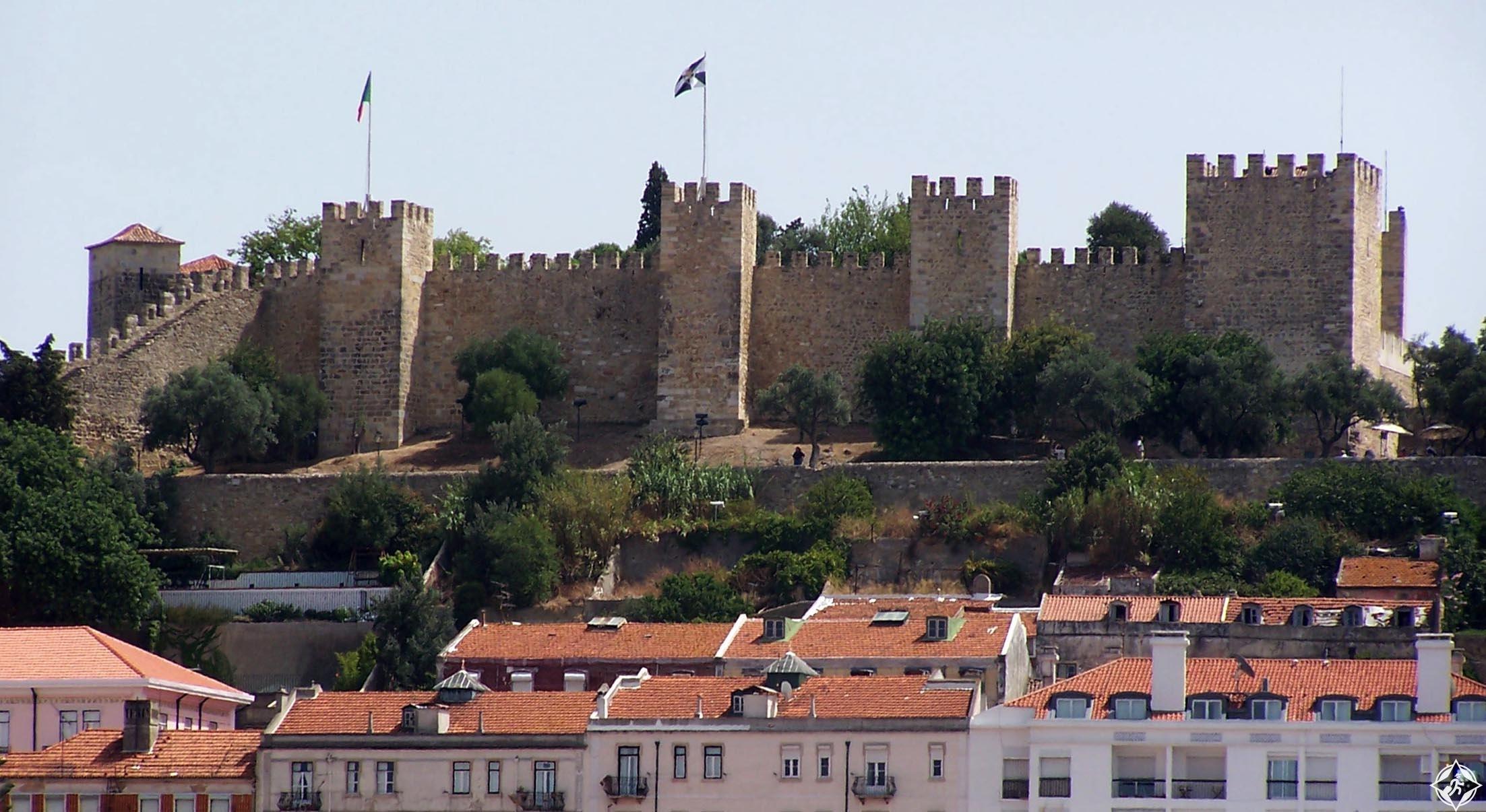 قلعة ساو خورخي ، السياحة في لشبونة