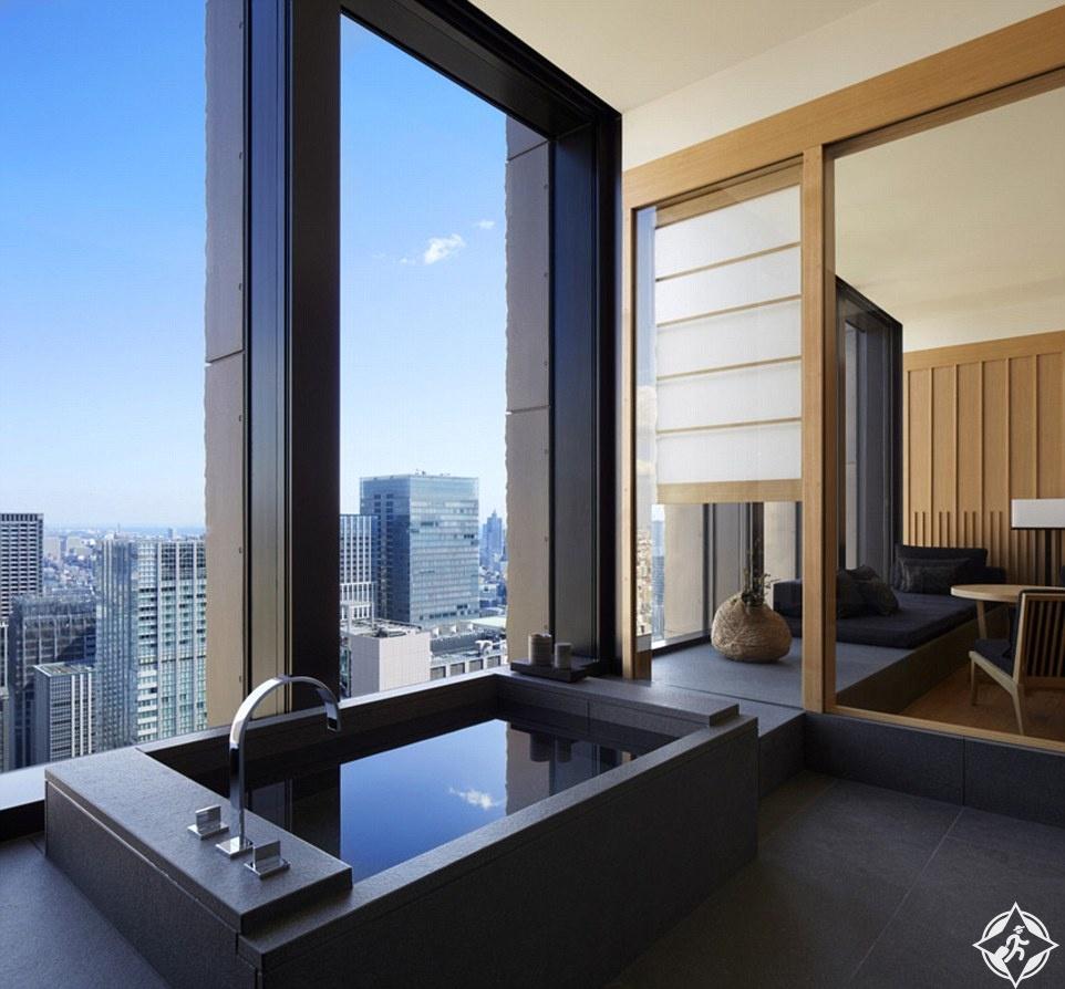 Aman Tokyo - Suite Bathroom
