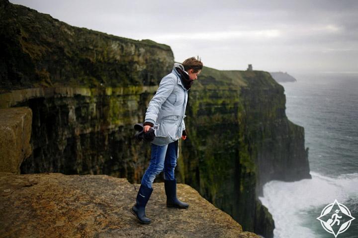 منحدرات موهر في ايرلندا