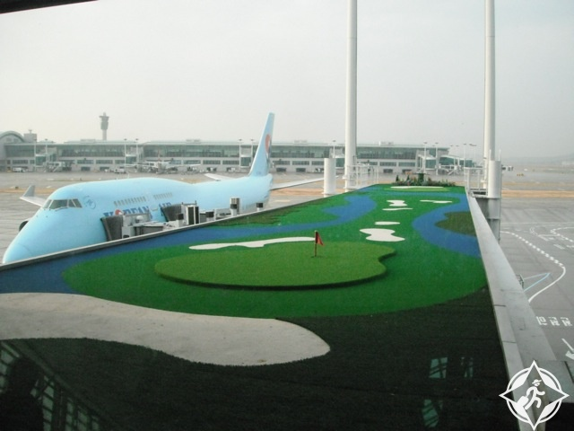 2. مطار إنتشون الدولي