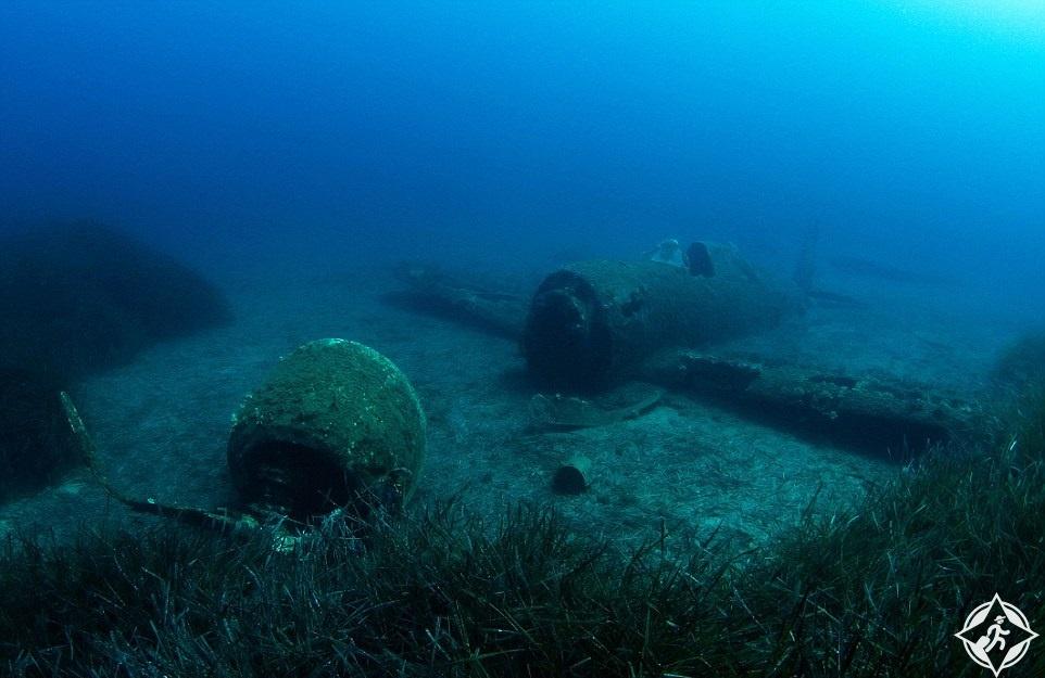 الطائرة A P-47 الصاعقة في كورسيكا