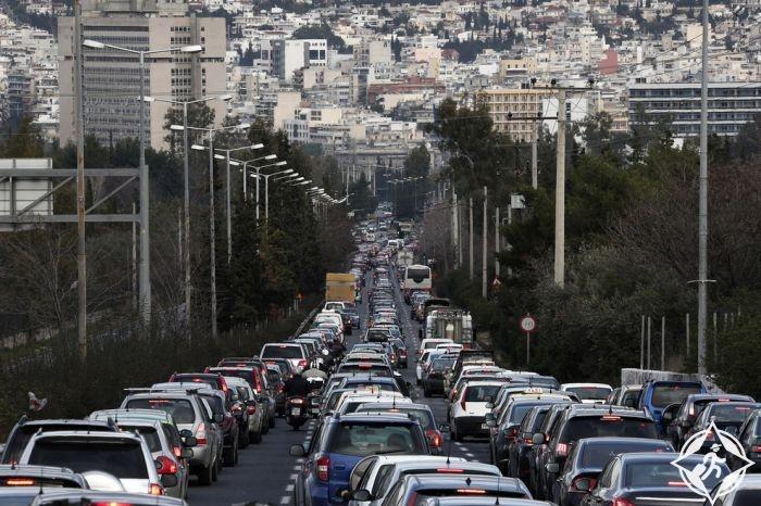 المرور في اثينا