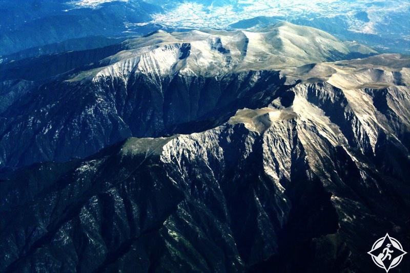 جبال اليونان