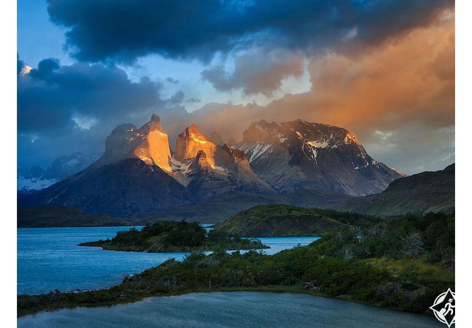 توريس ديل باين ، اوقات السفر الى شيلي