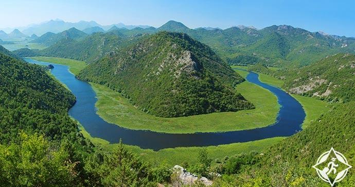 سكادار في الجبل الأسود