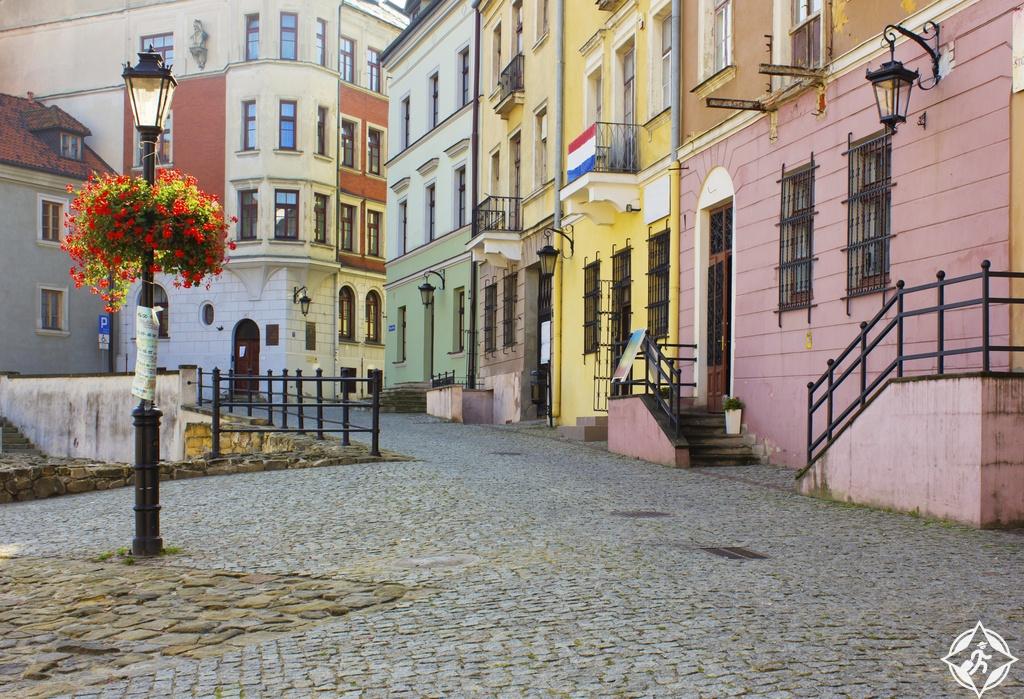 المدن القديمة بولندا