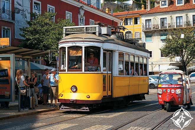 الترام في لشبونة