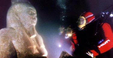 الكنوز الفرعونية الغارقة