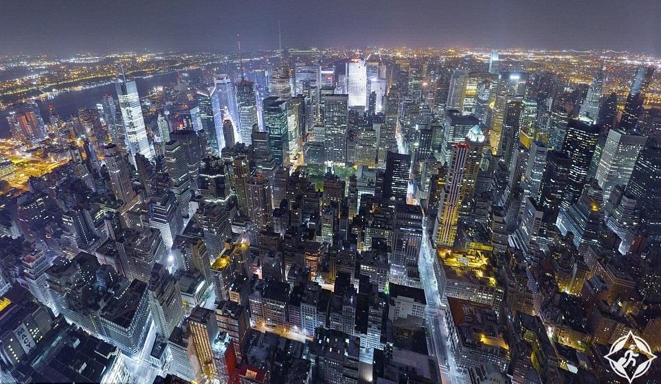 ناطحات السحاب في مانهاتن
