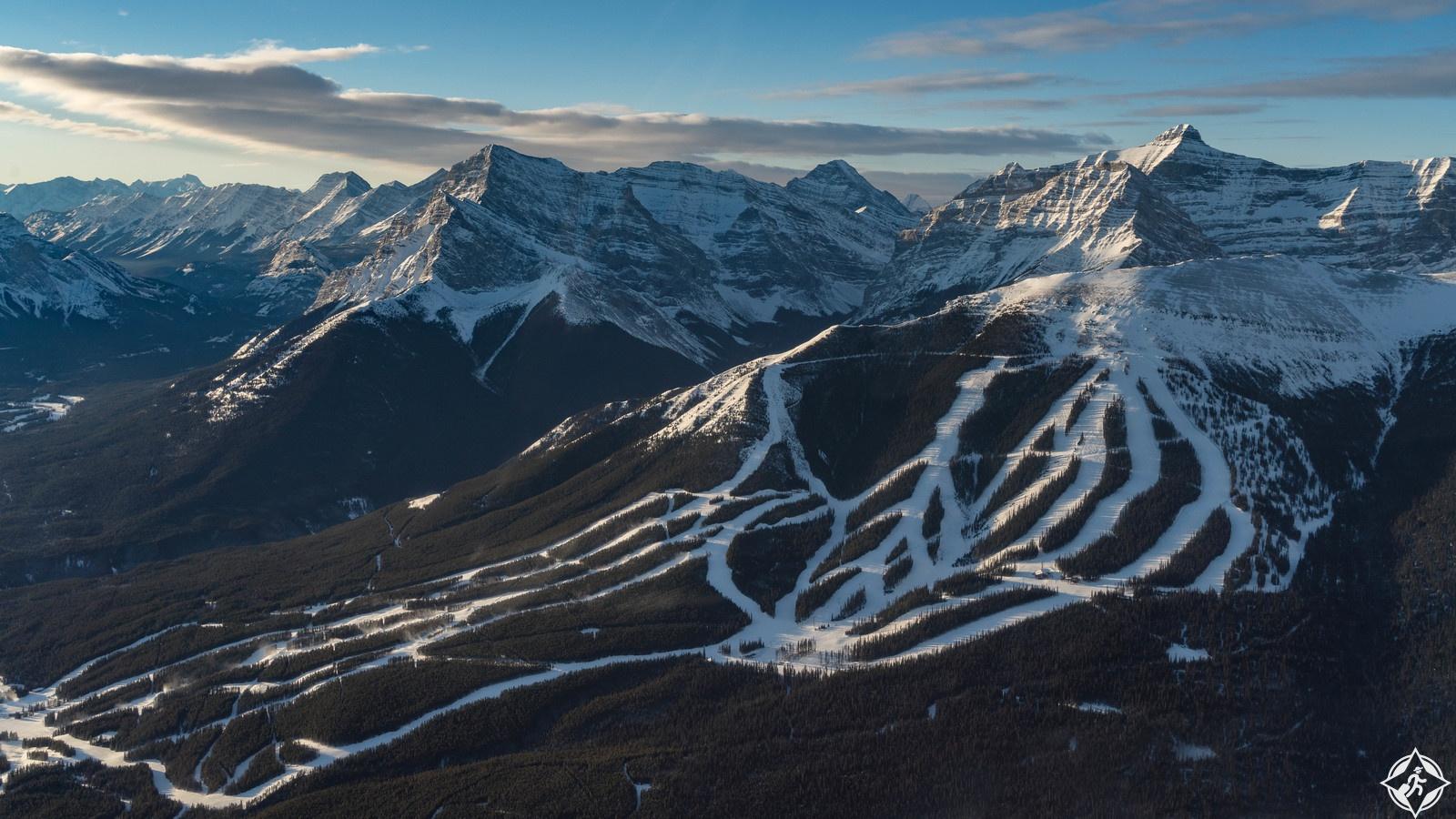 التزلج في بانف