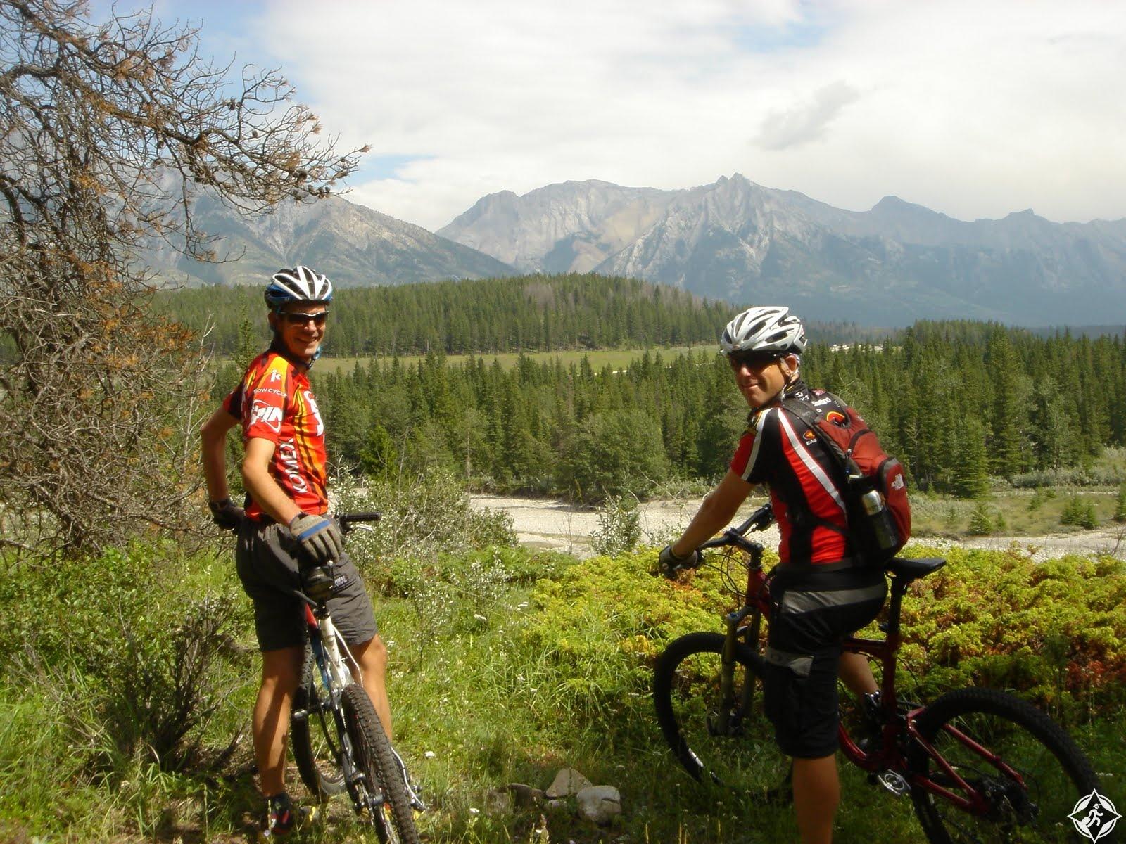الدراجات الجبلية في بانف